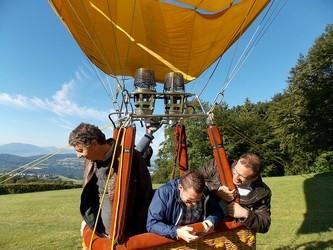 baptême montgolfière lyon