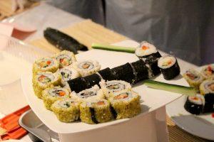 animation entreprise sushi